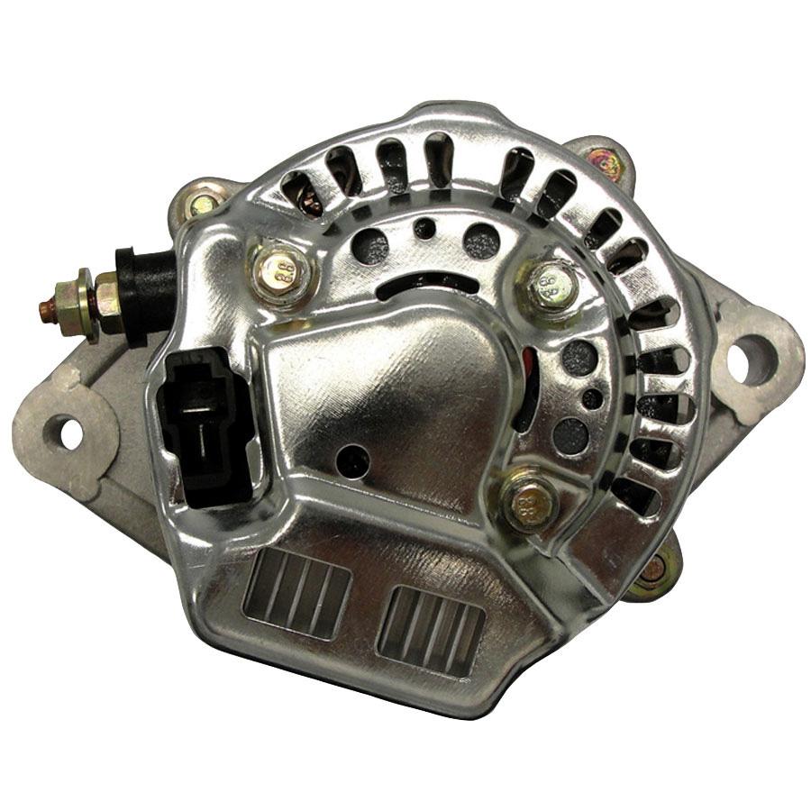Kubota Alternator Voltage: 12 Volts Amps: 45 Amps Regulator Position: 12:00 Polarity: Negative Output Stud Dimensions: M6-1.0