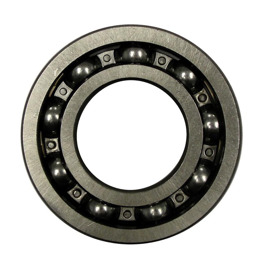 Kubota Bearing Open roller bearing with 71.95mm outside diameter by 34.95mm inside diameter by 16.95mm width.