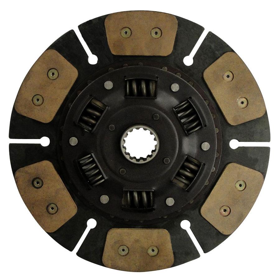 Kubota Clutch Disc Paddle type drive disc 13 outside diameter w/ 1 9/16 (28.575mm) 14 spline hub