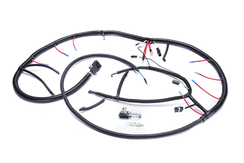 47_52ver2_398 unknown glow plug wiring harness for 1992 94 ford f250, f350 glow plug wiring harness at bakdesigns.co