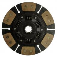 """Paddle type drive disc 13"""" outside diameter w/ 1 9/16"""" (28.575mm) 14 spline hub, six pads. Part Reference Numbers: 36430-25130;3C081-25132;3F740-25120;3F740-25122 Fits Models: M6950; M6950DT; M6950DTS; M6950S; M6970DT; M7580DT; M7580DTC; M7950; M7950DT; M7950DTS; M7950H; M7950S; M7950W; M7970DT; M8580; M8580DT; M8580DTC; M8950; M8950DT; M8950DTS; M8950S; M8970DT; M9540"""