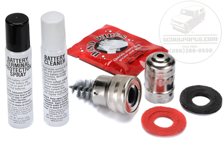 Clean and Protect  Your  Battery Terminals