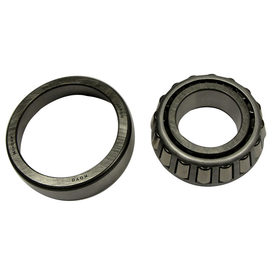 Kubota Bearing Bearing w/race. Race is 51.97mm outside diameter by 41.52mm inside diameter at begining of taper. Tapared roller bearing is 46.19mm outside diameter by 24.95mm inside diameter.
