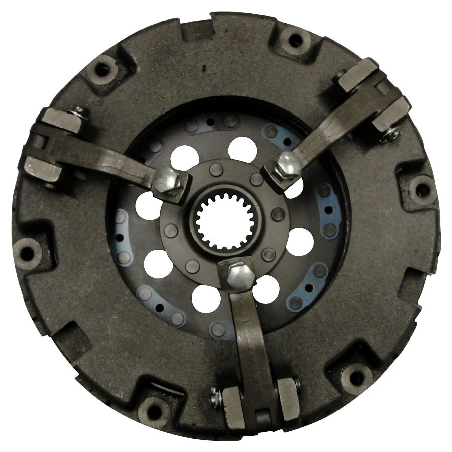 Kubota Clutch Plate Double 9 Dual Pressure Plate With 19 Spline 1 3/8 Center Hub.