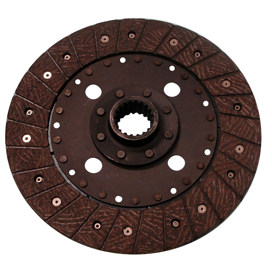 Kubota Clutch Disc 9 1/2 rigid fiber drive disc w/19 spline by 1 3/8 center hub.