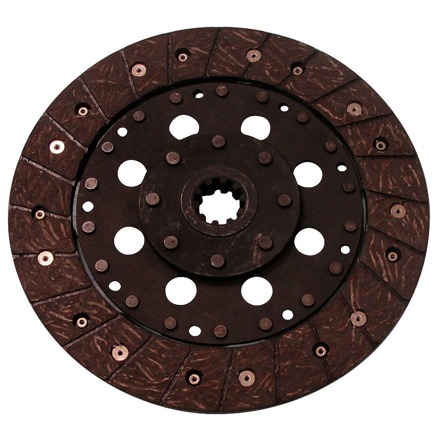Kubota Clutch Disc Rigid fiber drive disc w/8 1/2 outside diameter and 10 spline 1 center hub.