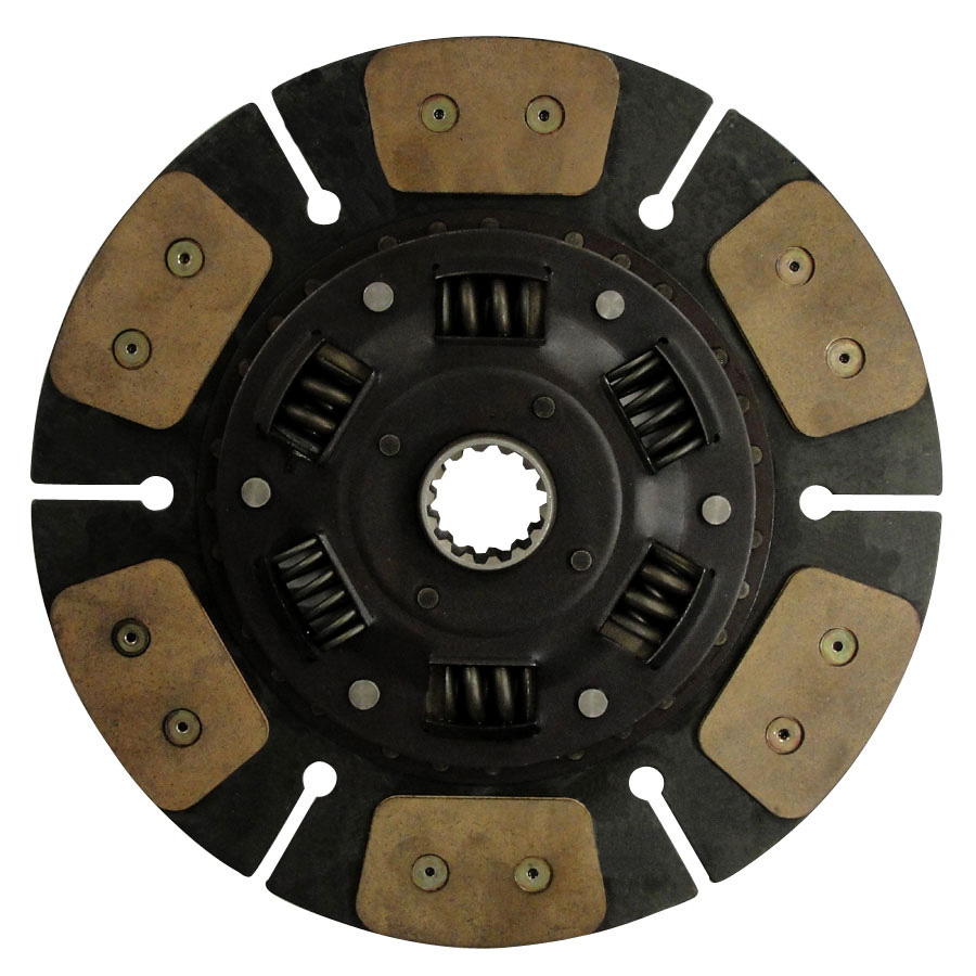 Kubota Clutch Disc Paddle type drive disc 13 outside diameter w/ 1 9/16 (28.575mm) 14 spline hub