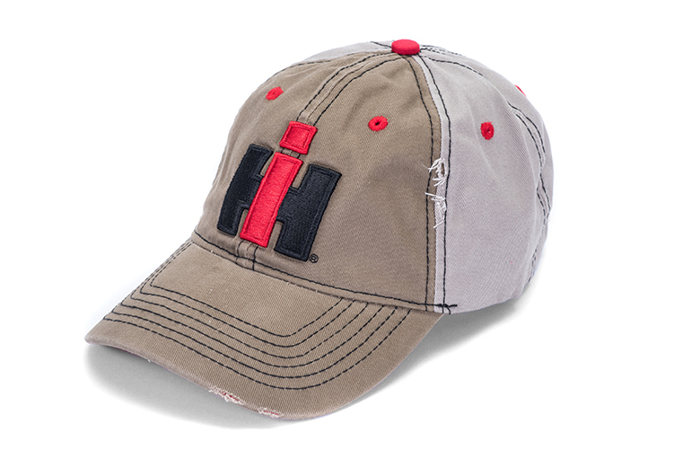 Distressed Baseball Cap, Hat With IH Logo