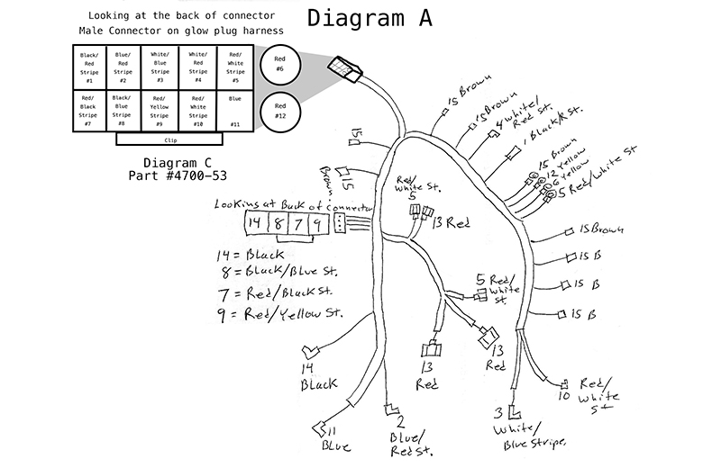 53_diagrama_final4700_64 ford 7 3l glow plug wiring harness (1989 1991) international international 4700 wiring diagram at reclaimingppi.co