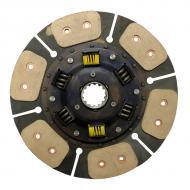 """Six (6) pad drive disc, 11 3/4"""" outside diameter w/14 spline 1 9/16"""" center hub. Part Reference Numbers: 3A152-25130;3A161-25130 Fits Models: M8200; M8200DT; M9000; M9000DT; M9000DTL; M9000DTM; M9000DTMC"""